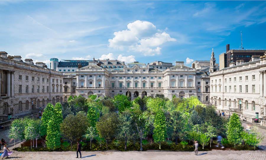 Es Devlin for the London Design Biennial 2021 titled 'Forest for Change