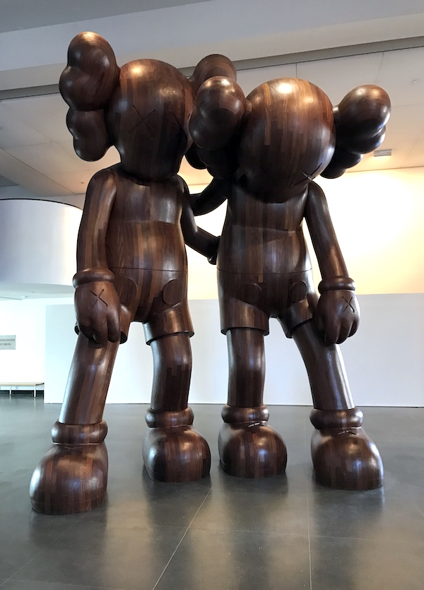 """Kaws, """"Along the Way"""", 2013. Courtesy of the artist and Brooklyn Museum, New York."""