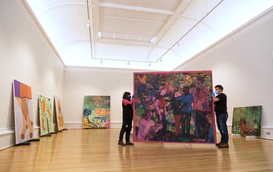 Kathryn Maple has won the prestigious John Moores Painting Prize 2020