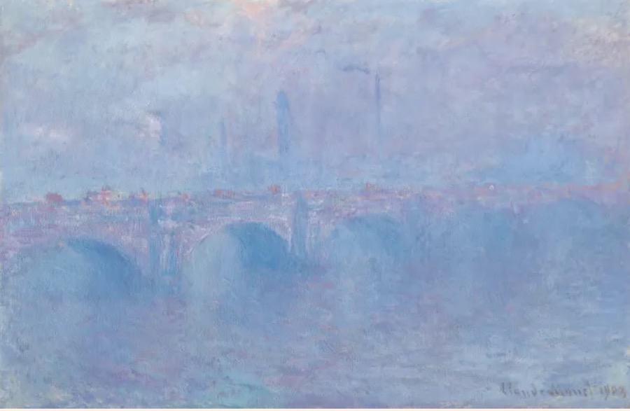 Claude Monet Waterloo Bridge Photo: Courtesy Christie's