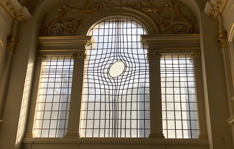 Shirazeh Houshiary and Pip Horne, East Window, 2008. Commissioned by St Martin-in-the-Fields, curated by Modus Operandi
