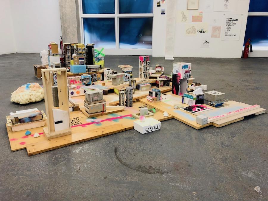 Anka Dabrowska, City Island installation