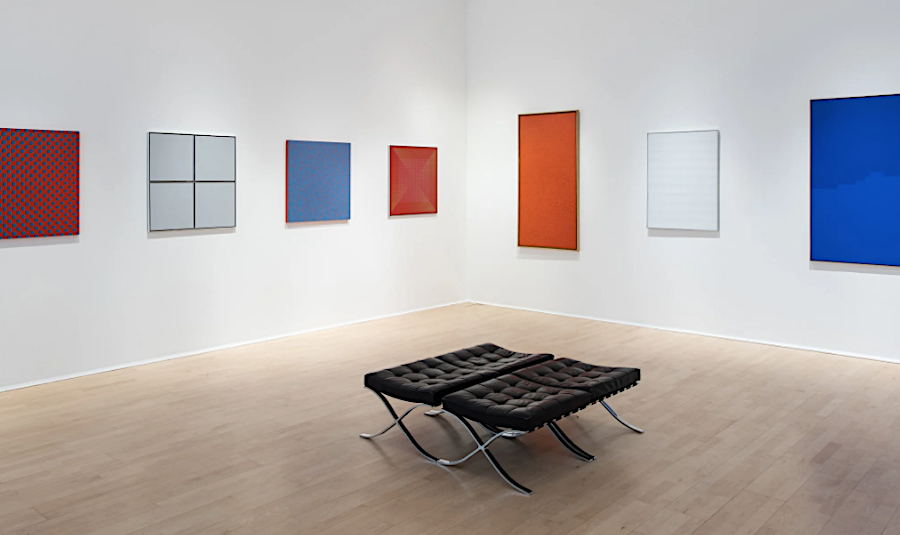 Mayor Gallery's new show 'Three Colours, Red-White-Blue'