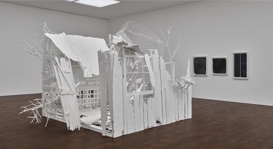 Rachel Whiteread: Internal Objects, installation view , 2021 © Rachel Whiteread Prudence Cuming Associates Courtesy Gagosian