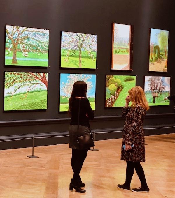 David Hockney, Spring, RA