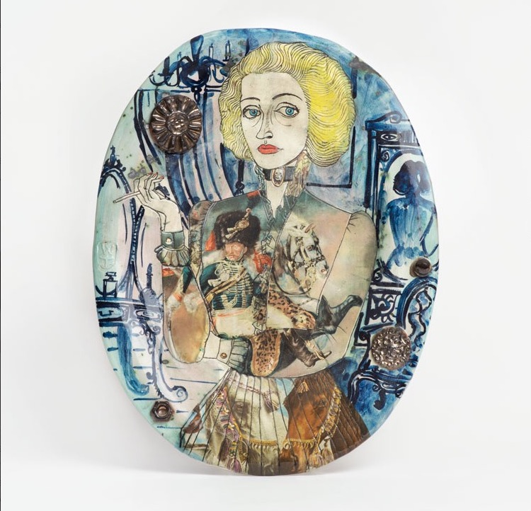Grayson Perry. Claire as a soldier, 1987. Private collection. © Grayson Perry, courtesy the artist and Victoria Miro.