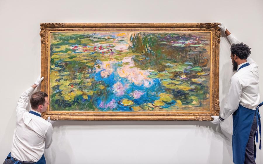 Claude Monet's Le Bassin aux Nymphéas (1917-1919)