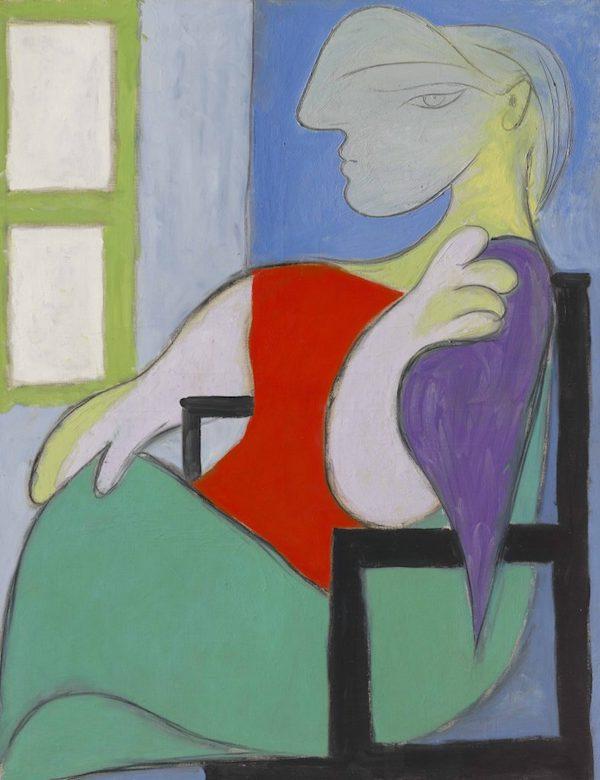 Pablo Picasso's Femme assise près d'une fenêtre (Marie-Thérèse) (1932