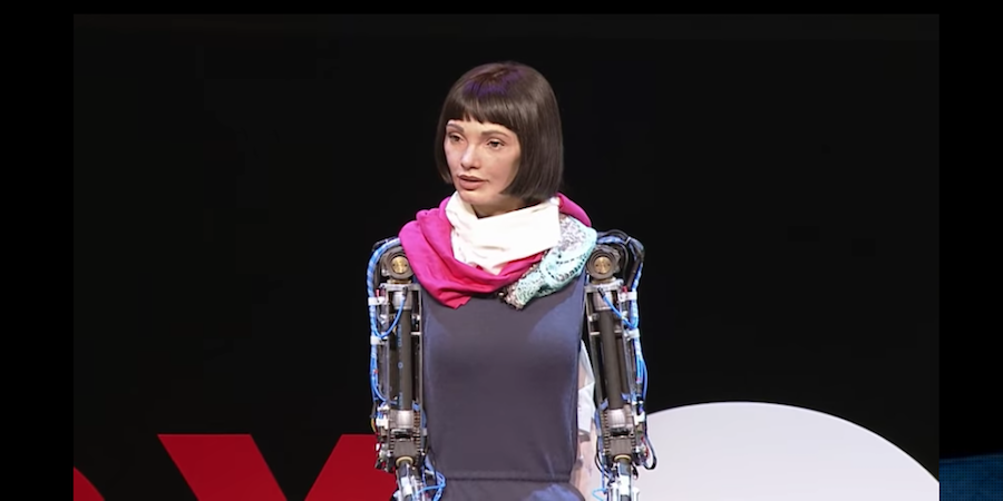 Robot Ada Lovelace pAInts Her Way Into Art History At Design Museum