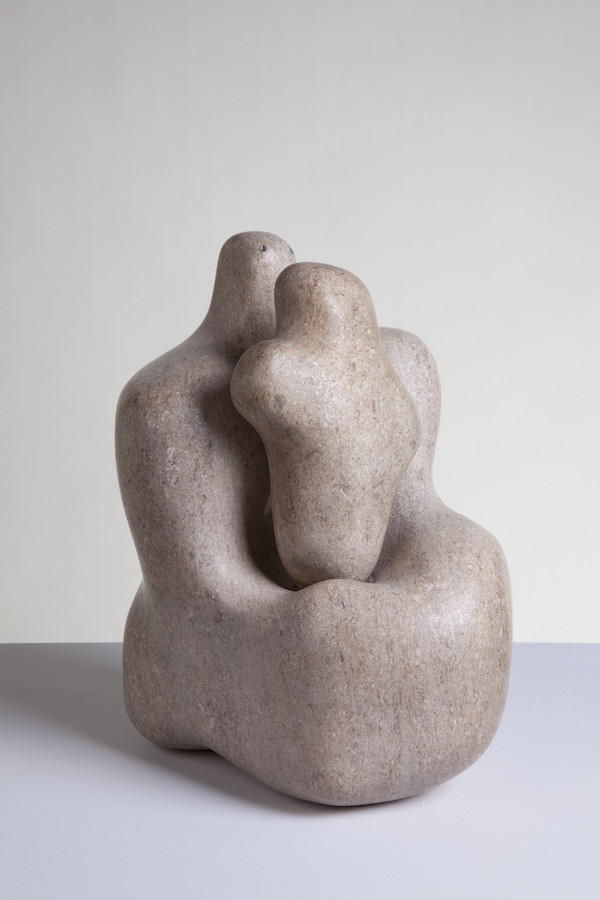 Barbara Hepworth, Mother and Child, 1934 Pink Ancaster stone Purchased by Wakefield Corporation in 1951 © Bowness, Hepworth Estate Photo: Jerry Hardman-Jones