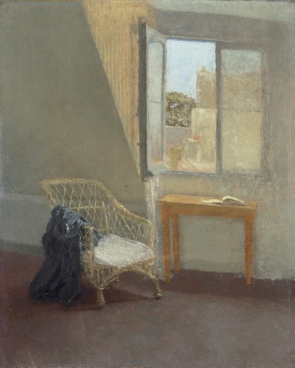 A Corner of the Artist's Room in Paris Gwen John