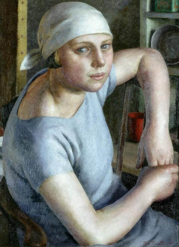 Girl in Blue Dod Procter (1892–1972) Laing Art Gallery