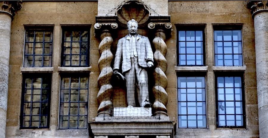 Cecil Rhodes Oxford Statue