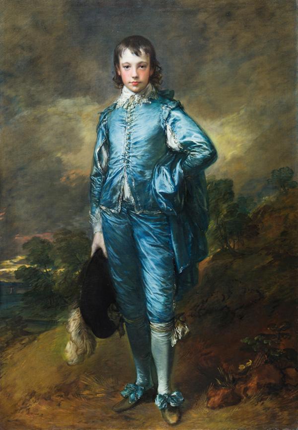 Gainsborough The Blue Boy Returns