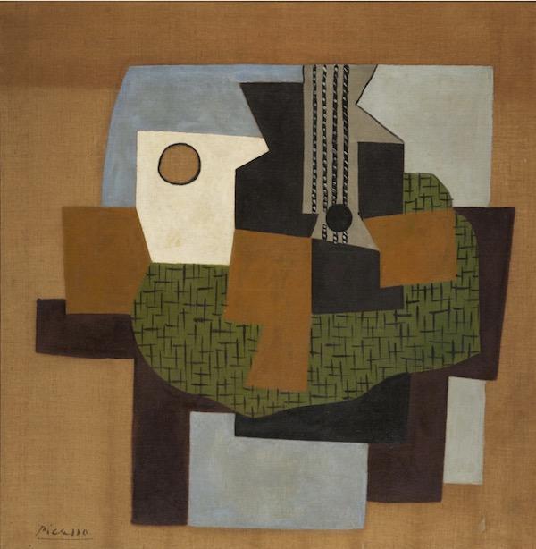 Gertrude Stein Pablo Picasso, Guitare sur une table, 1921