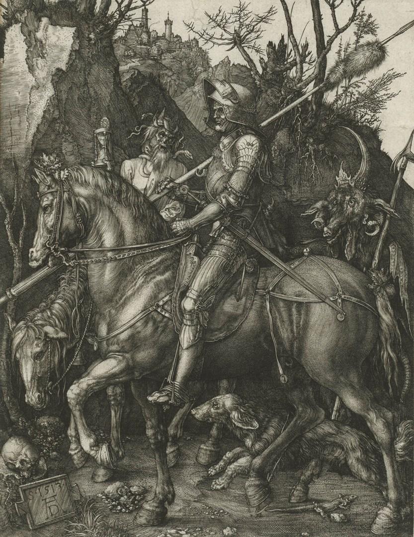 : Albrecht Dürer, 'The Knight, Death and the Devil'