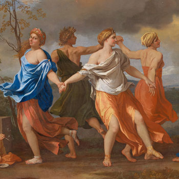 Poussin and Dance, National Gallery