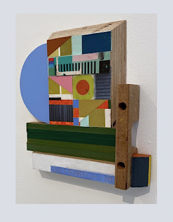 Laurence Noga, construction / assemblage, collage, paint, mixed-media – 2020