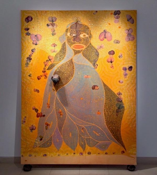 Chris Ofili: The Holy Virgin Mary