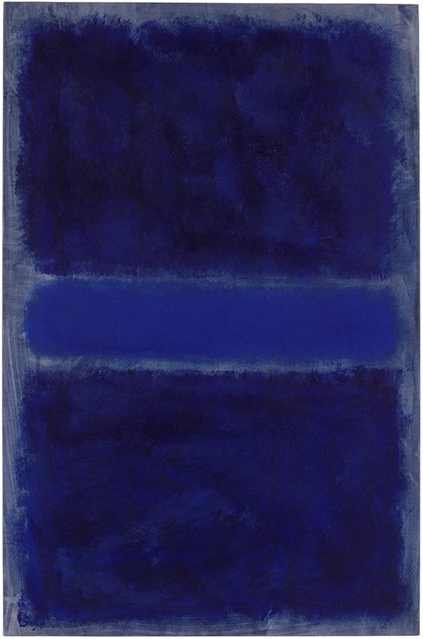 50595: Mark Rothko Untitled, 1968 oil on paper, on canvas 39