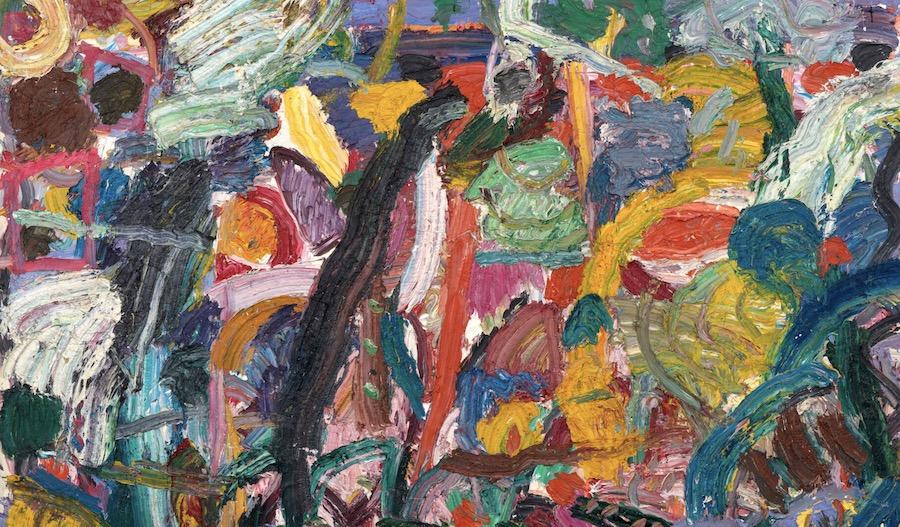 Marlborough Gallerypresents works byGillian Ayres