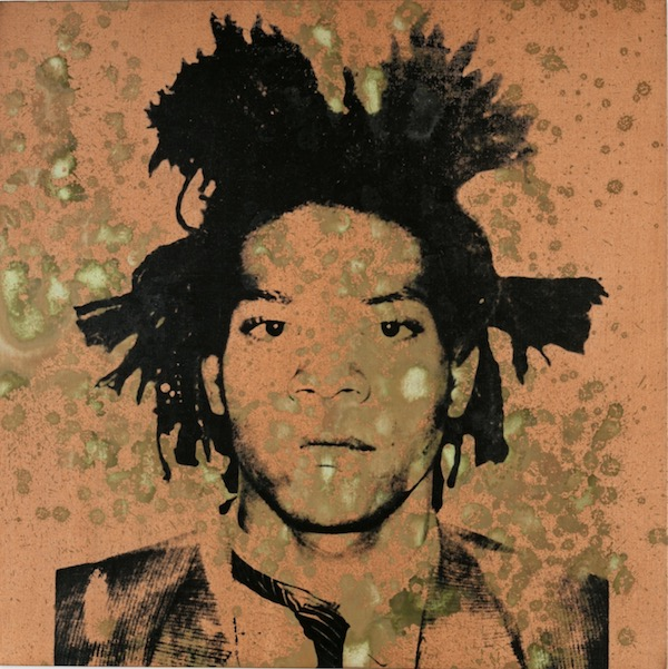 Andy Warhol Portrait OfJean-Michel Basquiat Auctioned