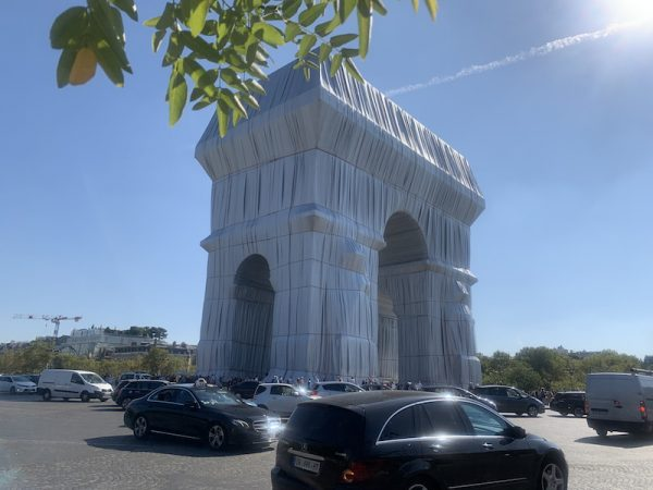 Christo,L'Arc de Triomphe Wrapped