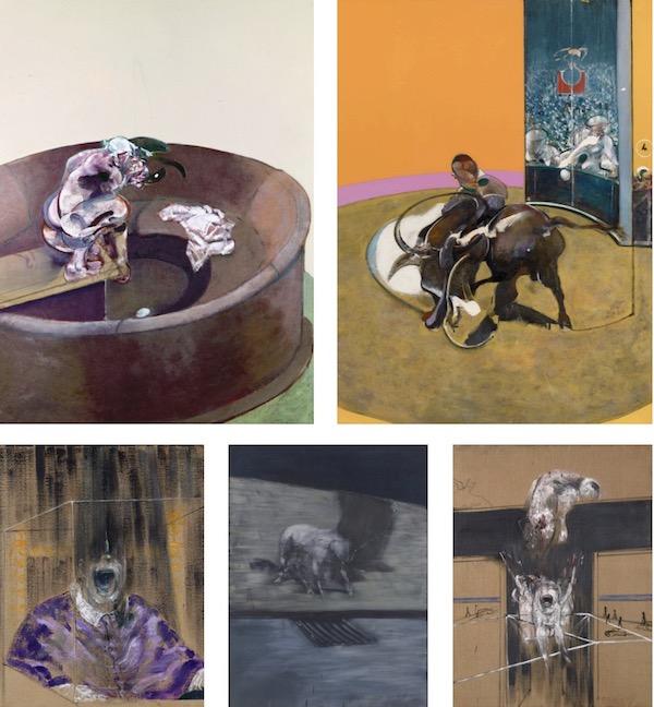 Francis Bacon, Man and Beast,Royal Academy