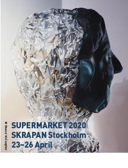 SuperMarket 2020. Skra Pan Stockholm. 23-26 April