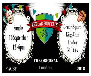 Art Car Boot Fair 2018 - Granary Square, Kings Cross, London N1C 4AA - Sunday 16 September/12—6pm
