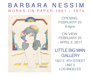 Barbara Nessim - Works on Paper 1961-1974. Little Big Man Gallery, Los Angeles.