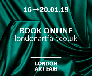 London Art Fair 2019 — 16-20 January 2019 - Book Now
