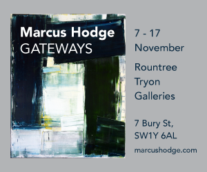 Marcus Hodge - Gateways: 7-17 November, Rountree Tryon Galleries